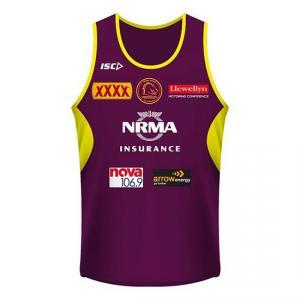 comprar Tank Top Brisbane Broncos Rugby 2018-2019 Brown