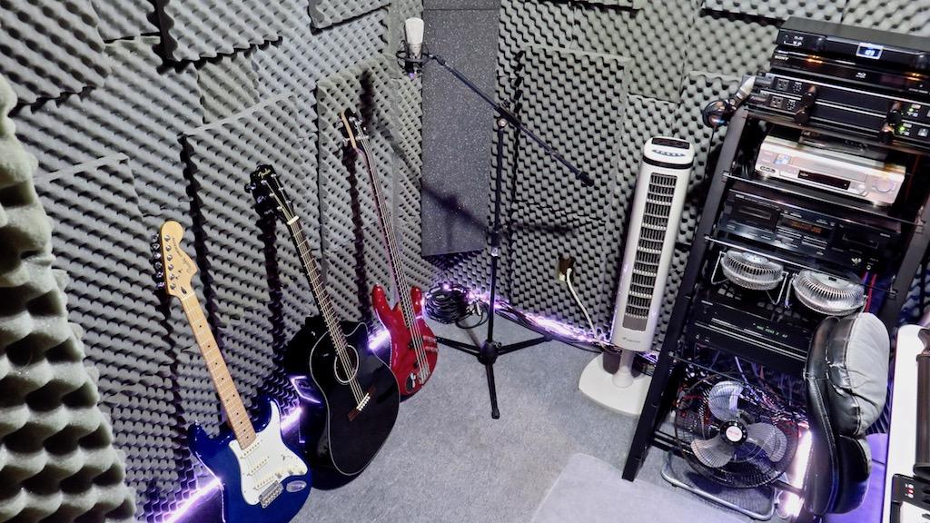 Multirack Digital Drum & Home Studio / clases de audioproducción