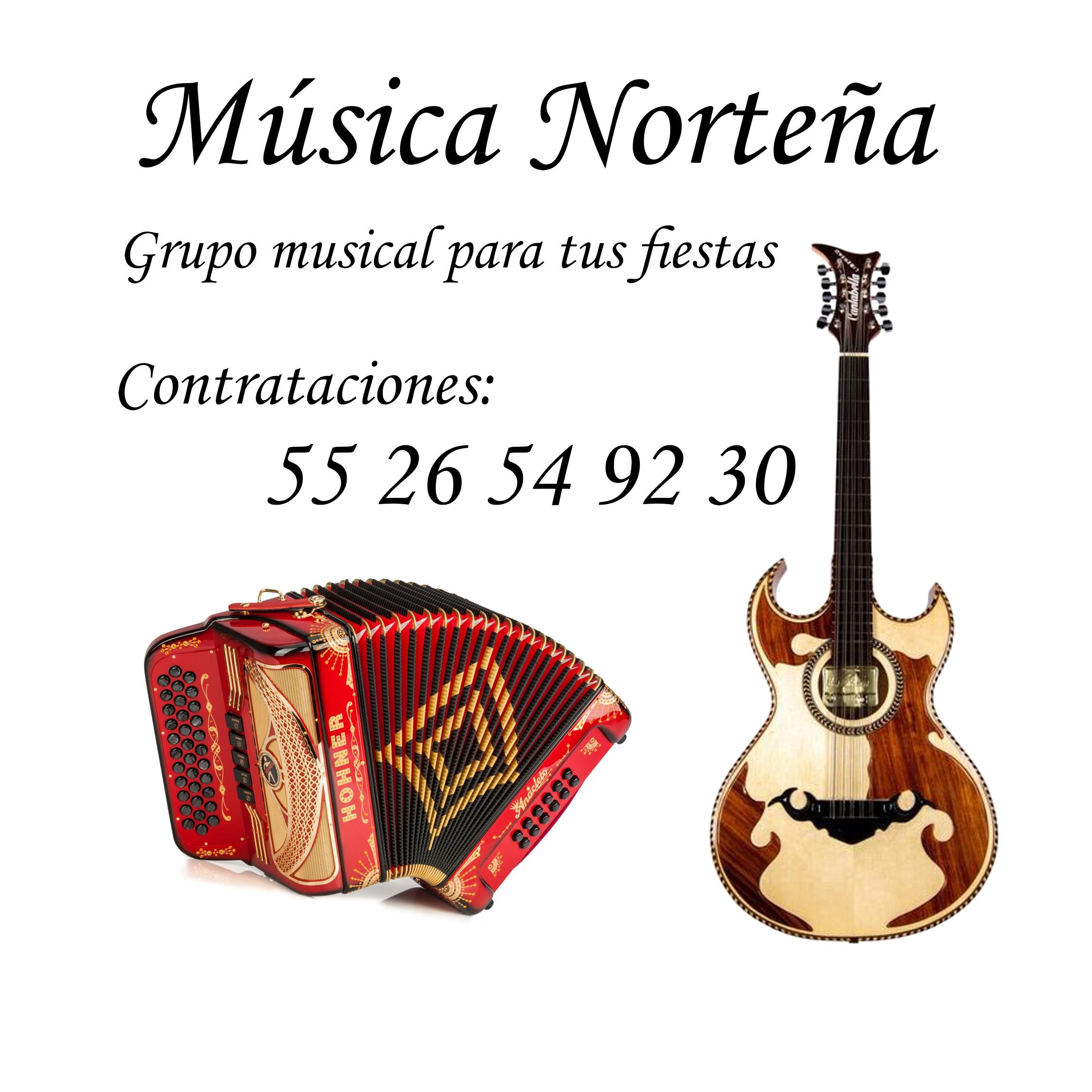 GRUPO NORTEÑO CONTRATACIONES 55 26 54 92 30