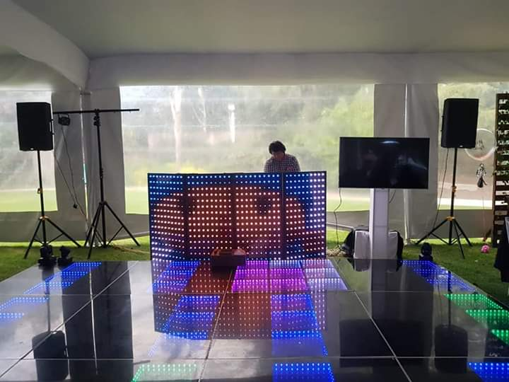 Dj, Audio, Iluminación, Pista iluminada en Puebla