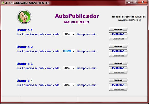 PROGRAMA PUBLICADOR DE ANUNCIOS