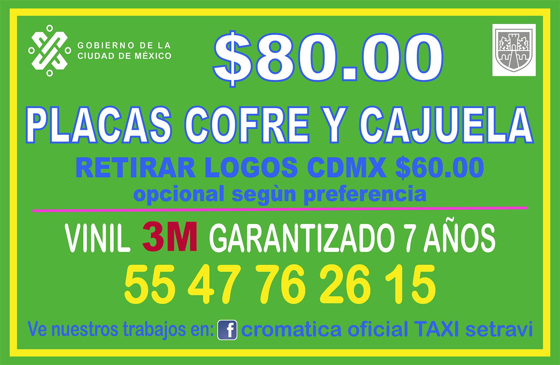 Rotulos taxi 2019 oficial semov