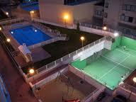 Julian Camarillo.Aeropuerto.2 piscinas.padel.jardines.OPCION COMPRA 60 m. 1 dormt.