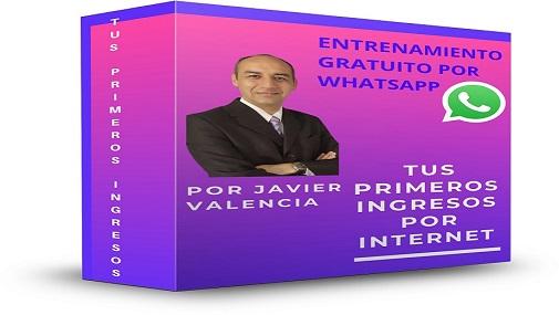 APRENDE A GENERAR TUS PRIMEROS INGRESOS POR INTERNET