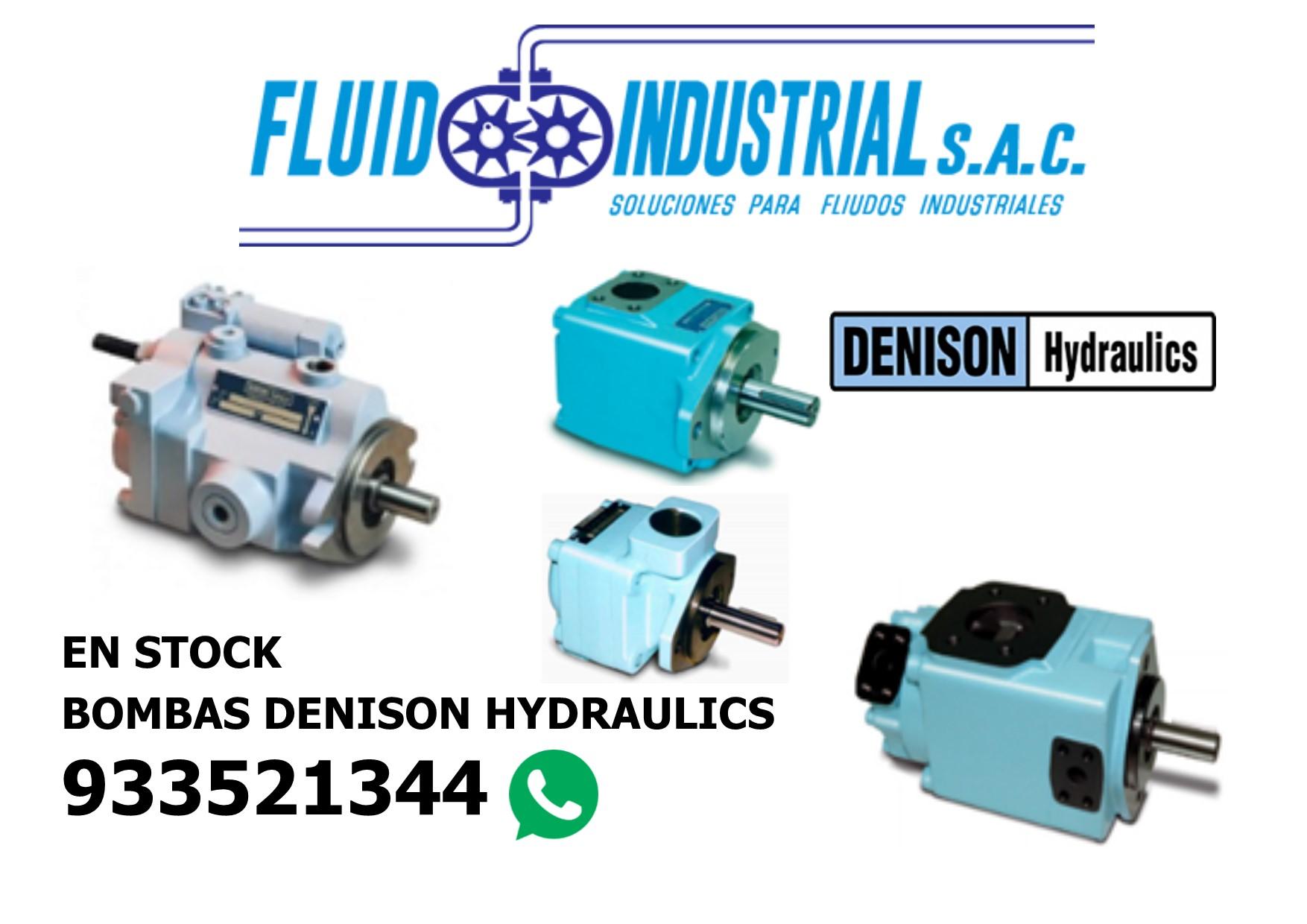 bombas hidraulicas denison