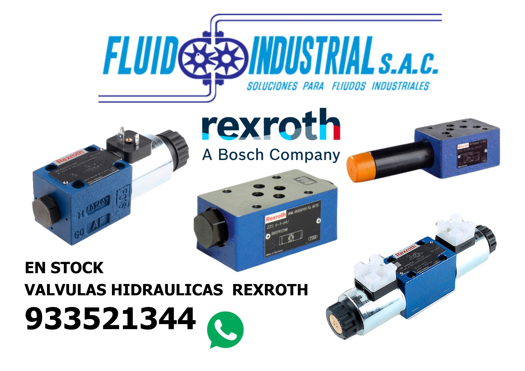 valvulas hidraulicas rexroth