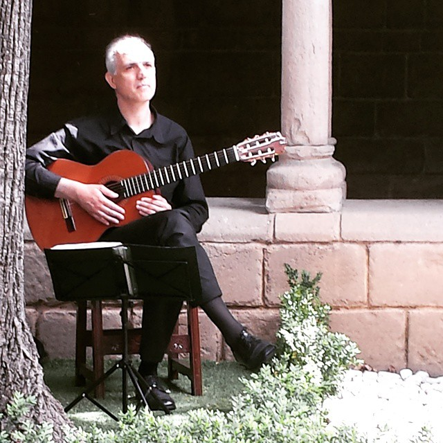 Guitarrista para eventos, bodas, toda cataluña