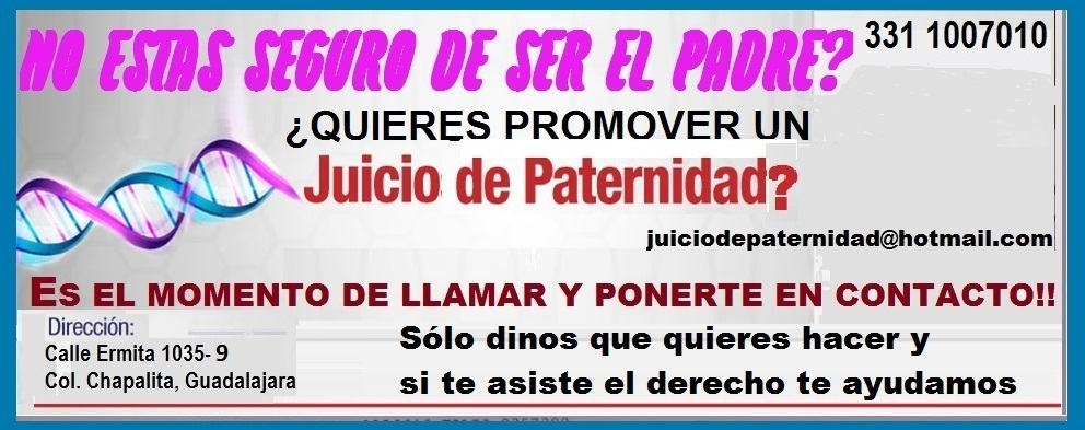 Abogada de Guadalajara|Juicios de Paternidad económicos