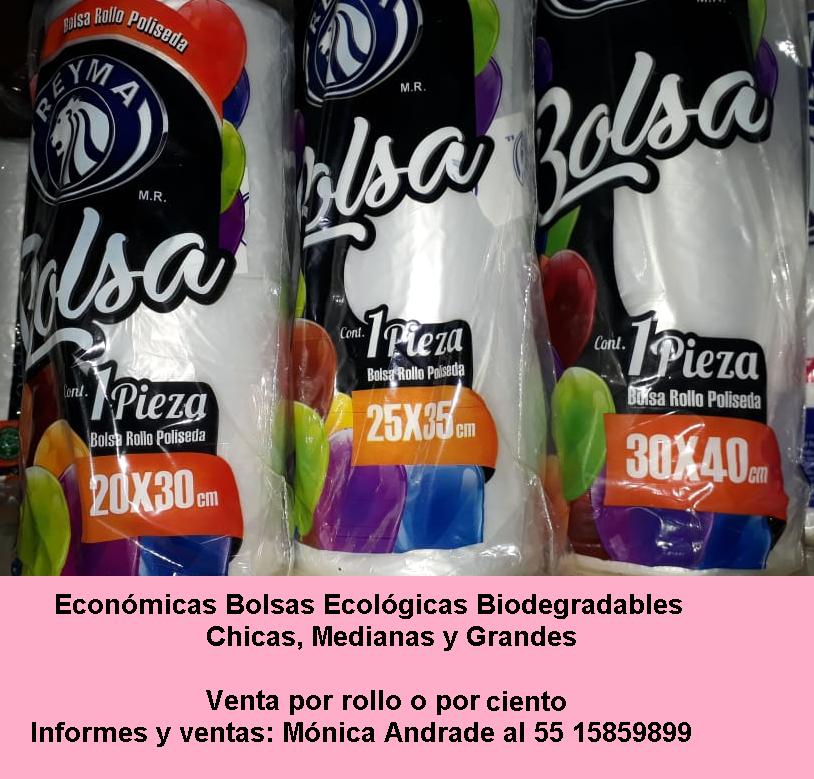 Económica Bolsa Ecológica Biodegradable