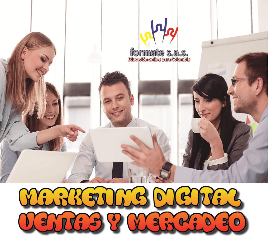 CURSO DE MARKETING, MERCADEO Y VENTAS POR INTERNET
