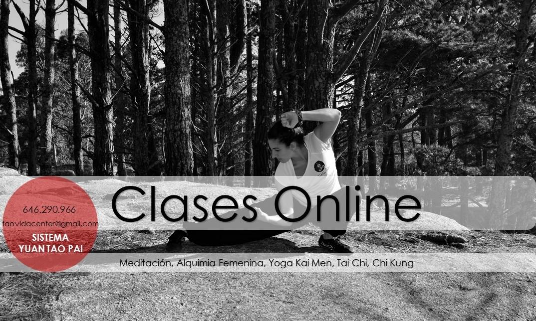 Clases online, artes taoístas
