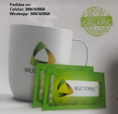 Multydrink superbebida natural antioxidante valor: $250.000