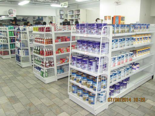 venta de gondolas para farmacia y bodegas