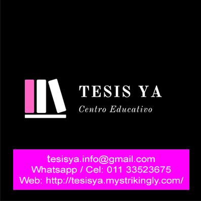 Asesoría de tesis y trabajos de grado