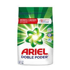Detergente en polvo Ariel doble poder x 5 kg