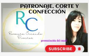 PATRONAJE CORTE Y CONFECCIÓN